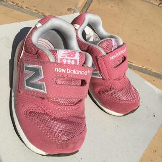ニューバランス(New Balance)の【箱付き】【13.5cm】ニューバランス子供用靴ピンク(スニーカー)