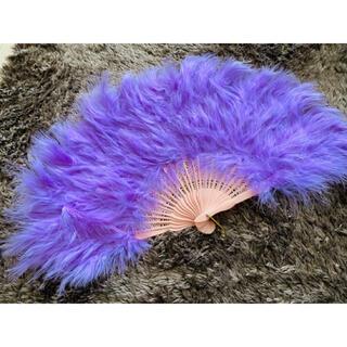 ジュリ扇 紫(小道具)