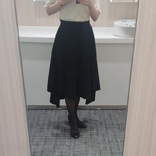 エムプルミエ(M-premier)のアベニールエトワール フレアスカート サイズXS(ひざ丈スカート)