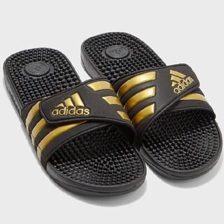 adidas - 新品 送料込み アディダス アディサージ 27.5センチ ブラック ゴールド