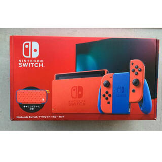 Nintendo Switch - 新品未使用 任天堂 スイッチ マリオレッド ブルー