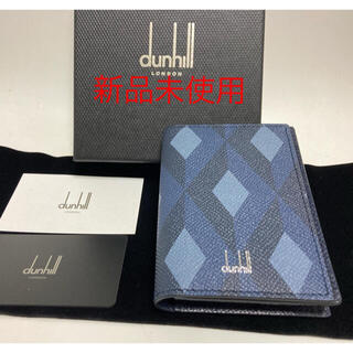 Dunhill - カードケース名刺入れdunhillエンジンターン新品未使用ダンヒル