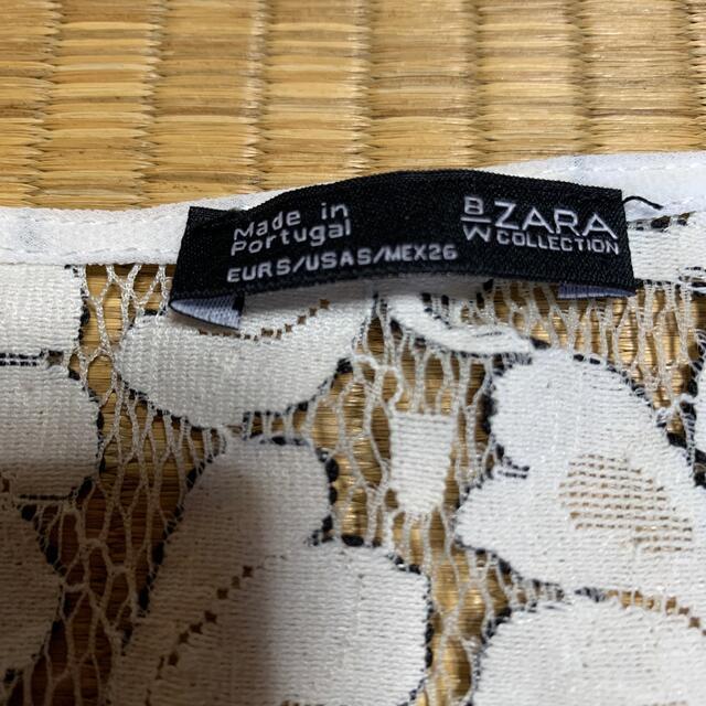 ZARA(ザラ)のZARA レース トップス レディースのトップス(カットソー(半袖/袖なし))の商品写真