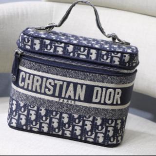 Christian Dior - DIORTRAVEL ヴァニティケース★オブリーク★ジャガード