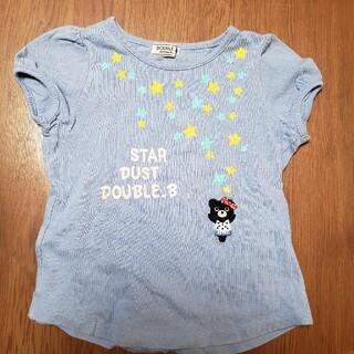 ダブルビー(DOUBLE.B)のミキハウス ダブルB Tシャツ 100(Tシャツ/カットソー)