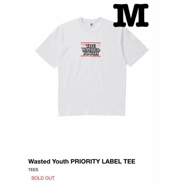 Supreme(シュプリーム)のWasted Youth Black Eye Patch Tee M メンズのトップス(Tシャツ/カットソー(七分/長袖))の商品写真