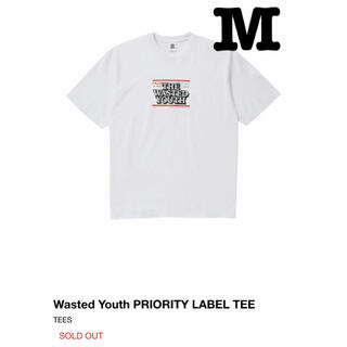 Supreme - Wasted Youth Black Eye Patch Tee M