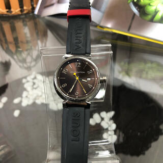 LOUIS VUITTON - LOUIS VUITTON タンブール 腕時計 メンズ Q1111