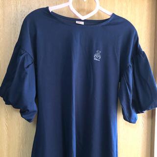 ウィルソン(wilson)のWilson♡ベア 袖ボリュームTシャツ(Tシャツ(半袖/袖なし))