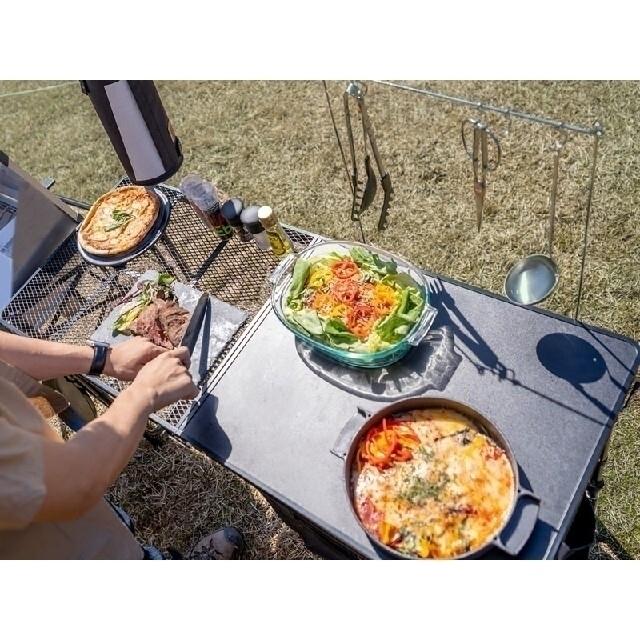 DOPPELGANGER(ドッペルギャンガー)のキッチンテーブル DOD オールインワンキッチン キャンプ スポーツ/アウトドアのアウトドア(テーブル/チェア)の商品写真
