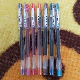 HI-TEC - HI-TEC-C 0.4mm(ピンク/ライトブルーのみ0.3mm)7色セット
