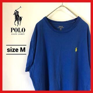 ポロラルフローレン(POLO RALPH LAUREN)の90s 古着 ポロラルフローレン Tシャツ ワンポイントロゴ ブルー(Tシャツ/カットソー(半袖/袖なし))
