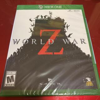 エックスボックス(Xbox)のワールドウォーZ 北米版 Xbox one専用ソフト(家庭用ゲームソフト)