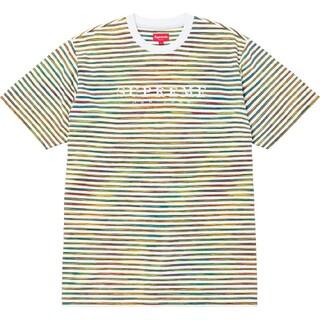 シュプリーム(Supreme)のSupreme Static Stripe Top(Tシャツ/カットソー(半袖/袖なし))