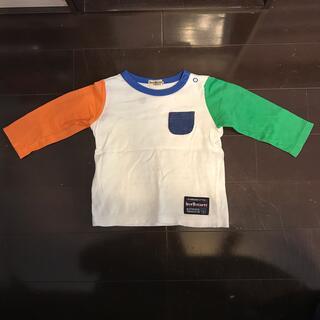ホットビスケッツ(HOT BISCUITS)のミキハウス ホットビスケット 長袖Tシャツ 80(Tシャツ)