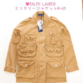 ラルフローレン(Ralph Lauren)の♥[新品] ラルフローレン サファリジャケット♥ミリタリージャケット M-65(ミリタリージャケット)