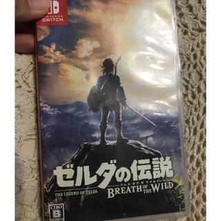 Nintendo Switch - 【ソフトのみ】ゼルダの伝説 ブレスオブザワイルド Switch