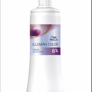ウエラ(WELLA)のウエラ イルミナ クリームデベロッパー オキシ6% 100ml(第2剤)(カラーリング剤)