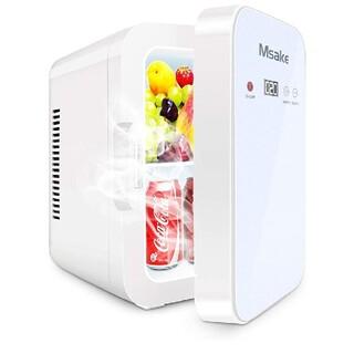 冷温庫 10L ポータブル 小型冷蔵庫 温度調節可ワンタッチ操作LCD温度表示