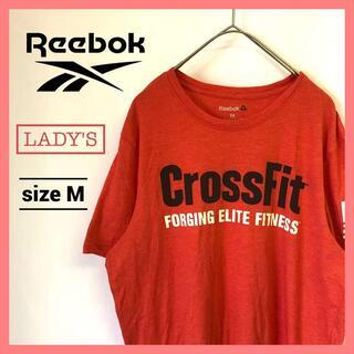 リーボック(Reebok)の90s 古着 リーボック Tシャツ デカロゴ レディース CrossFit(Tシャツ(半袖/袖なし))