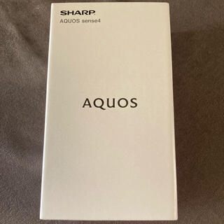 AQUOS - SHARP AQUOS sense4 SH-M15ブラック SIMフリー