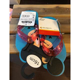 ディズニー(Disney)のタグ付き新品 ビーチサンダル 16(サンダル)