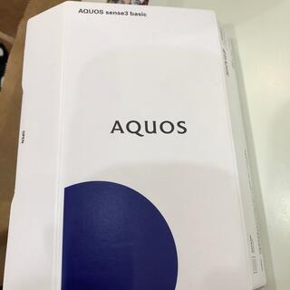 AQUOS - AQUOS sense3 basic  SHV48