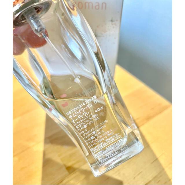 SAMOURAI(サムライ)のサムライウーマン オードトワレ 40ml コスメ/美容の香水(香水(女性用))の商品写真