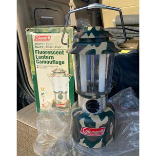 コールマン(Coleman)の◎安心安全 コールマン テント室内用 蛍光灯ランタン 単1電池使用(ライト/ランタン)