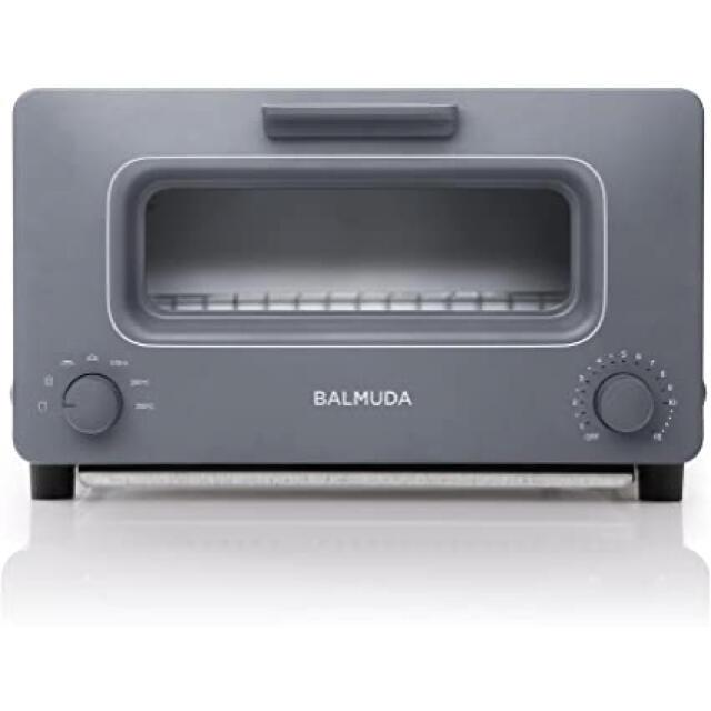 BALMUDA(バルミューダ)のbalmuda The Toaster K01E-GW  グレー 本日最終値下げ スマホ/家電/カメラの調理家電(調理機器)の商品写真