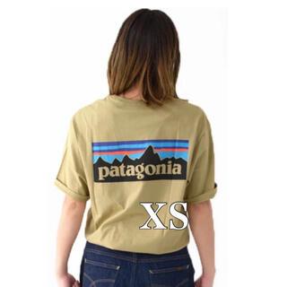 patagonia - 新品 未使用品 ☆パタゴニア P6ロゴ オーガニックT タン CSC XS