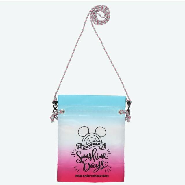 Disney(ディズニー)の東京ディズニーリゾート限定品 ショルダーバッグ ポーチ ミッキー エンタメ/ホビーのおもちゃ/ぬいぐるみ(キャラクターグッズ)の商品写真