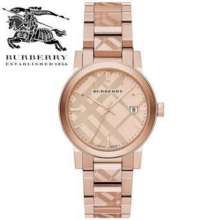 BURBERRY -  新品未使用 正規品 バーバリー 腕時計 ユニセックス ローズゴールド