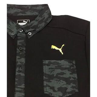 PUMA - 【新品未使用】PUMA プーマ  ゴルフウェア  半袖 ポロシャツ サイズM