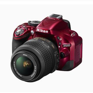 Nikon - Nikon D5200 レッド(カメラケース・リモコン・SDカード付き)