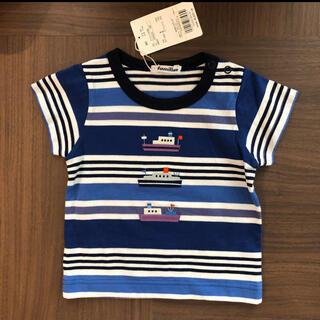 familiar - ファミリア  familiar 半袖Tシャツ