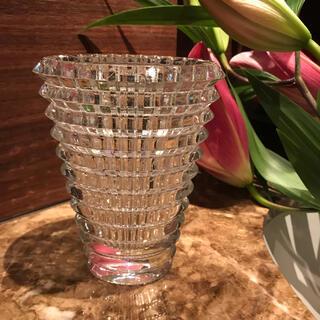 バカラ(Baccarat)のバカラ フラワーベース アイベース 使用済 Mサイズ(花瓶)