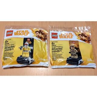 Lego - レゴ★スターウォーズ ハンソロ ポリバッグ2種セット 未開封 新品