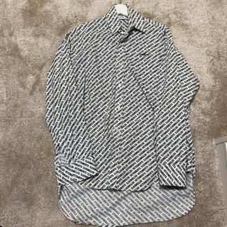 Balenciaga - VETEMENTS ロゴプリントオーバーシャツ
