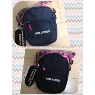 ジーユー(GU)のキムジョーンズ ミニバッグ ブラック&ネイビー 2色セット 新品タグ付き未使用(ショルダーバッグ)