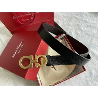 Ferragamo - 激売れ Ferragamo ベルト メンズ 人気 3.5*110CM 刻印ロゴ