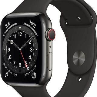 Apple Watch Series 6 44mmグラファイトステンレス