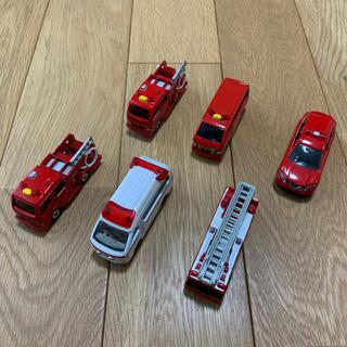 Takara Tomy - トミカ 消防車両6台セット