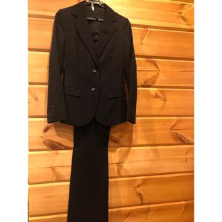 インタープラネット(INTERPLANET)の美品 インタープラネット パンツスーツ 黒 M(スーツ)