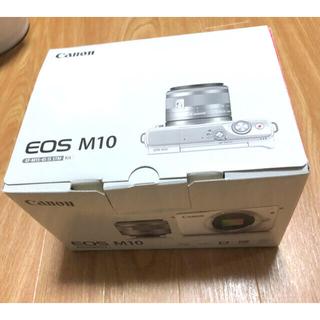 Canon - Canon EOS M10 箱あり!SDカードお付けします!