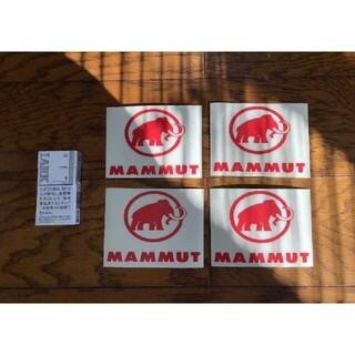 マムート(Mammut)のMAMMUT マムート 切り文字ステッカー 防水仕様 アースカラー カスタム(その他)