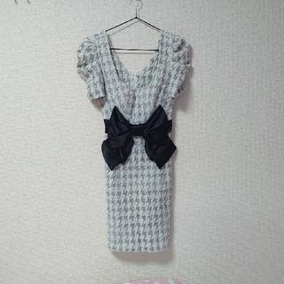 dazzy store - ◆GOSSIPdazzy♡ビッグリボンツイード風ドレス◆