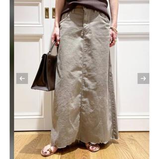 ドゥーズィエムクラス(DEUXIEME CLASSE)の専用 新品MUSE de Deuxieme SURT コーデュロイ スカート(ロングスカート)