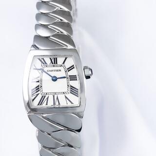 Cartier - 【仕上済】カルティエ ラドーニャ ブレス シルバー レディース 腕時計
