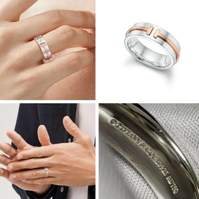 Tiffany & Co.(ティファニー)の専用☆TIFFANY ティファニー T トゥー リング  メンズのアクセサリー(リング(指輪))の商品写真